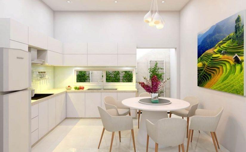 Chia sẻ kinh nghiệm thiết kế nội thất phòng bếp hiện đại