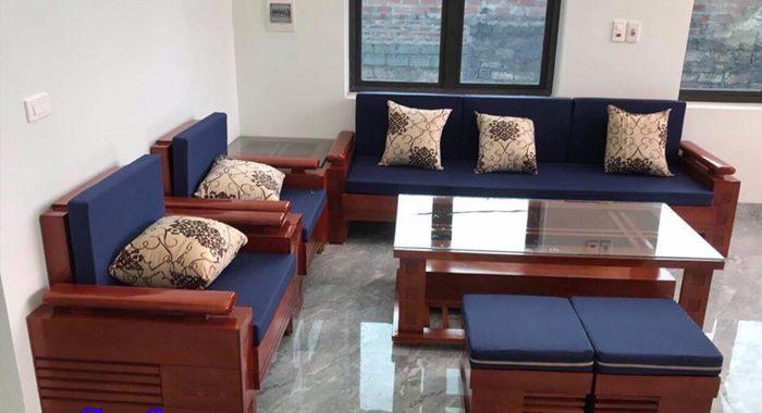 Phân biệt sự khác nhau giữa bộ ghế sofa gỗ và sa lông